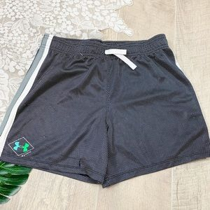 Under Armour Bottoms - Under Armour Mesh Gym Athletic Shorts Youth 1830